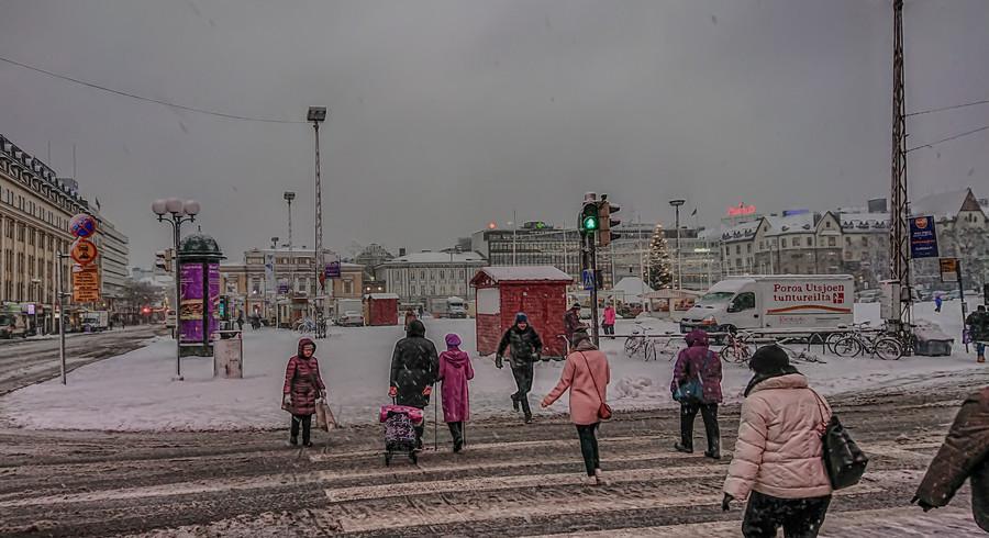 Немного атмосферных фото из Финляндии. Город Турку