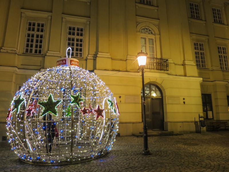 Зима в Польше. Люблин в преддверии праздников