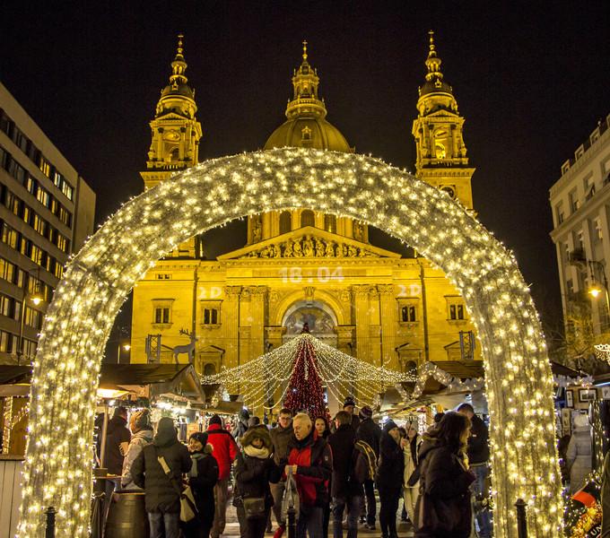 Рождественская сказка в Будапеште