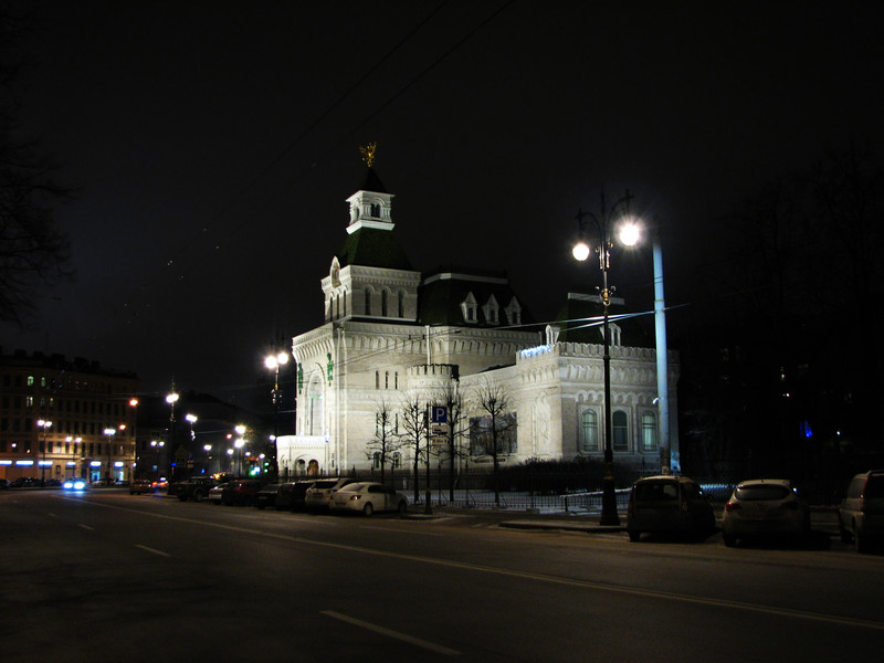 Прогулка вечером по Питеру