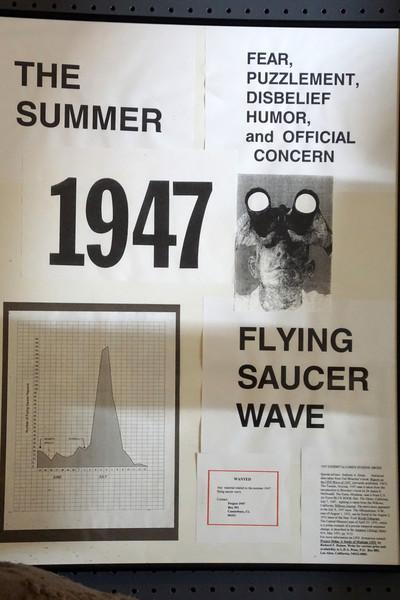 Международный Музей НЛО в Розуэлле, США