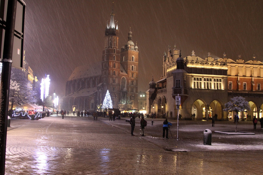 Старый город – древнейшая часть Кракова