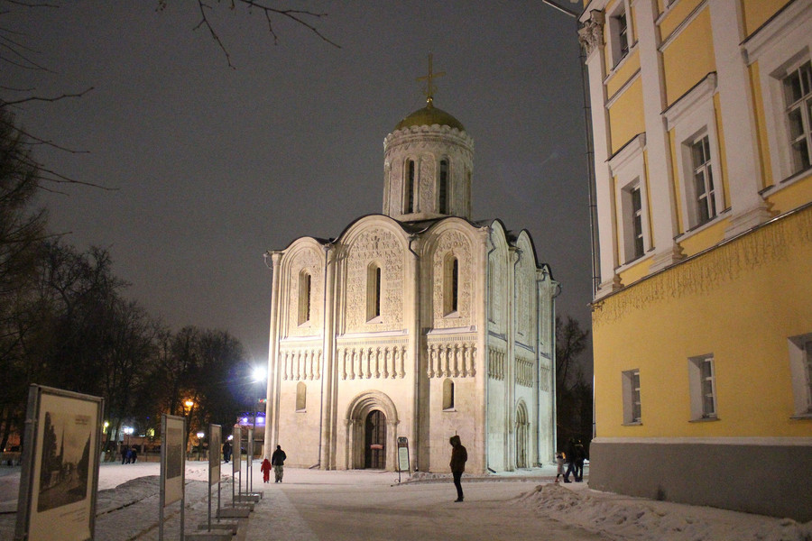Зимняя экскурсия по Владимиру