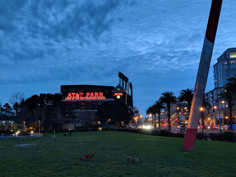 Начало января в Сан-Франциско