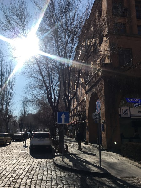 Солнечный январский Ереван 2018