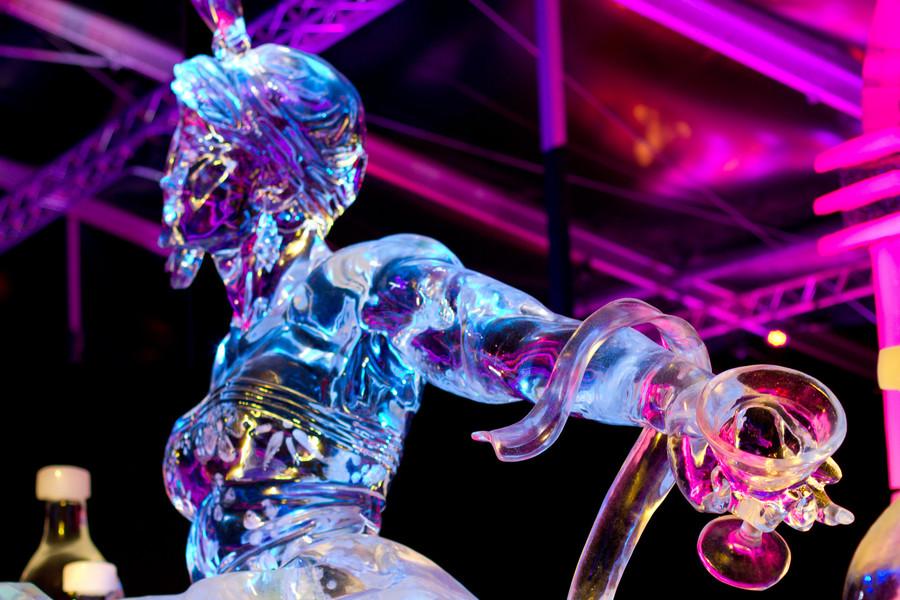 Фестиваль ледяных фигур в Амстердаме