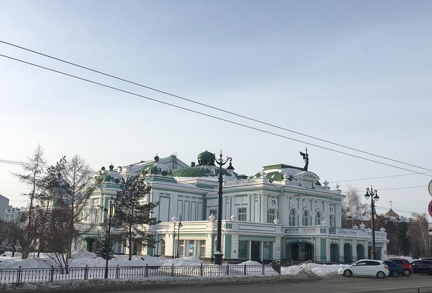 Зима в Омске. Прогулка по городу