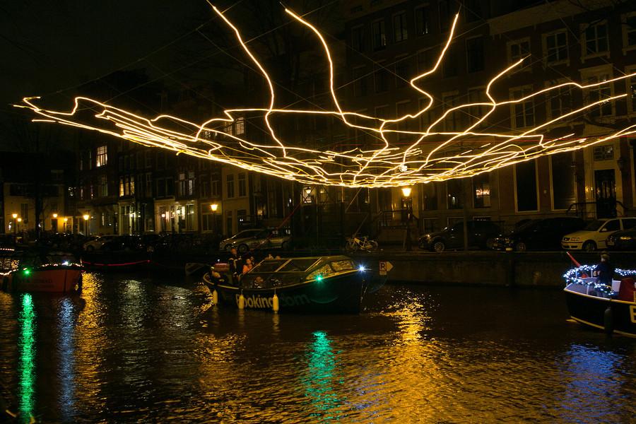 Фестиваль света в Амстердаме 2018 года