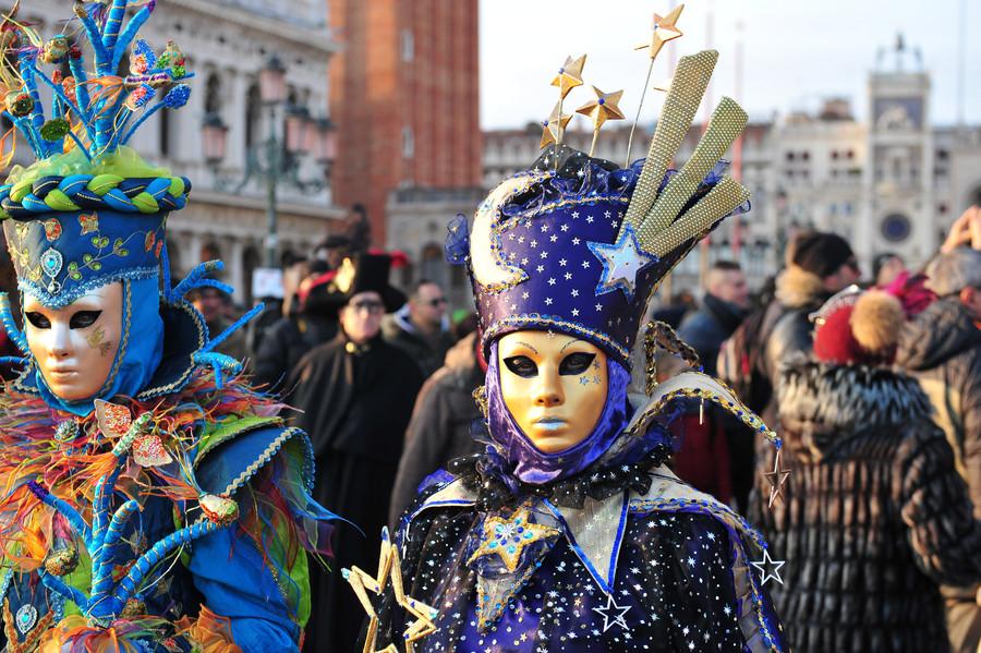 Венецианский карнавал (январь-февраль 2018)