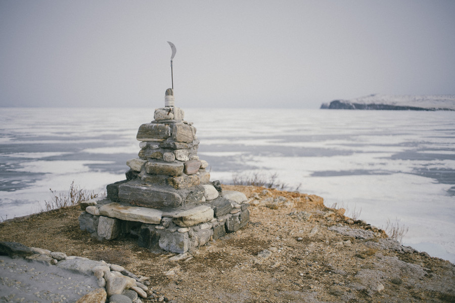 Зимние красоты Байкала