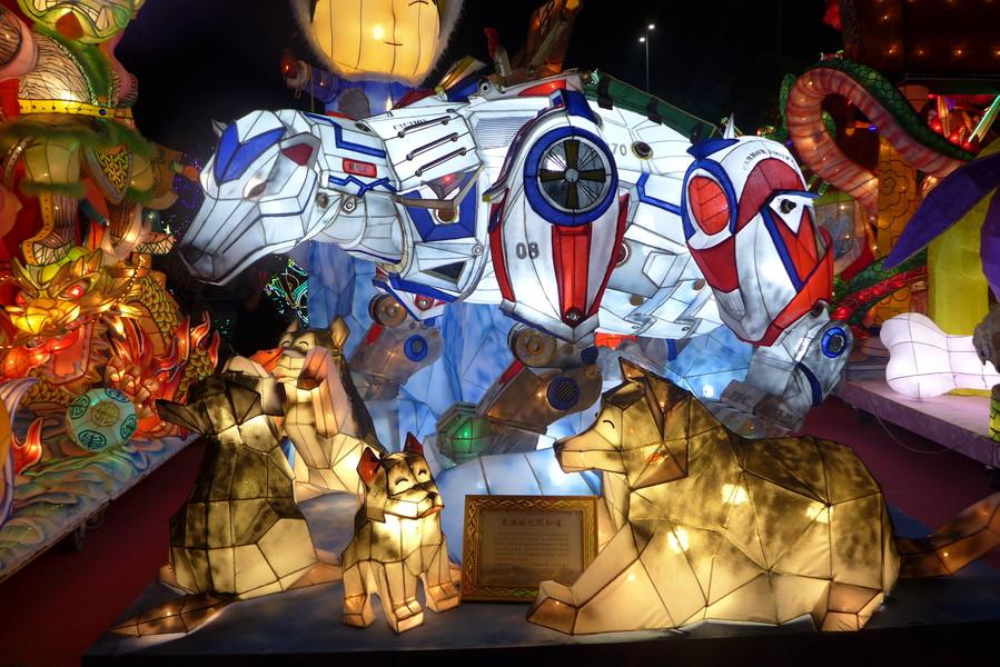 Фестиваль фонарей в Тайване 2018