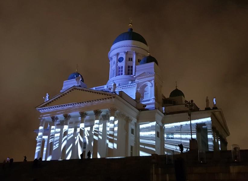 Фестиваль света Lux Helsinki 2018