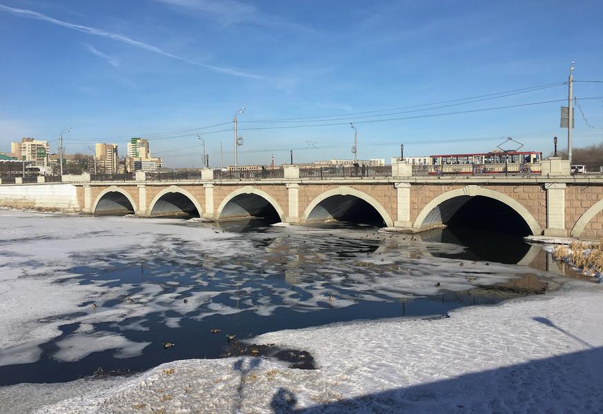 Весна в Челябинске