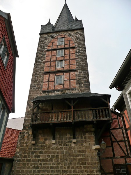 Старинный немецкий город Кведлинбург