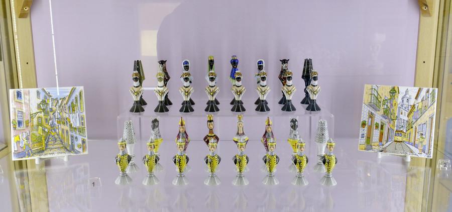 Музей фарфора и шахмат на Аптекарской набережной