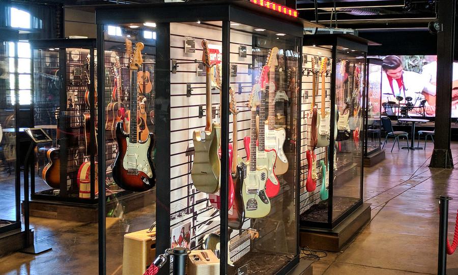 Музей гитар Songbirds а Чаттануге