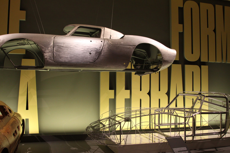 """Выставка """"Феррари: Под кожей"""" в Лондоне"""