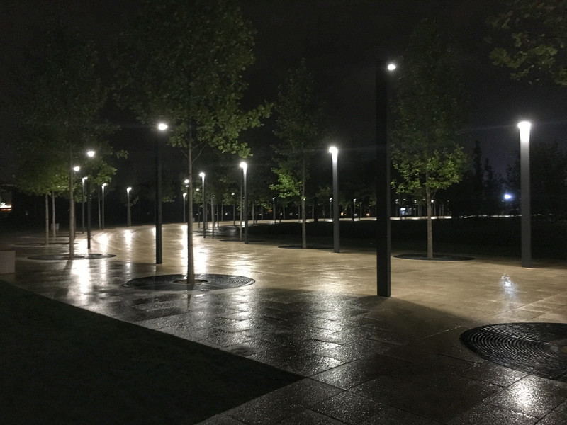 Парк возле стадиона ФК Краснодар