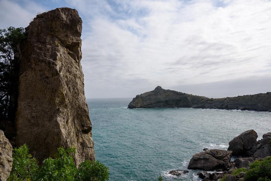 Курортный поселок Новый свет в Крыму и его окрестности