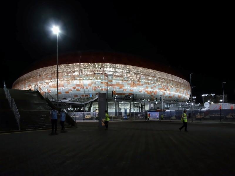 Вечерний Саранск. Прилетели на футбол