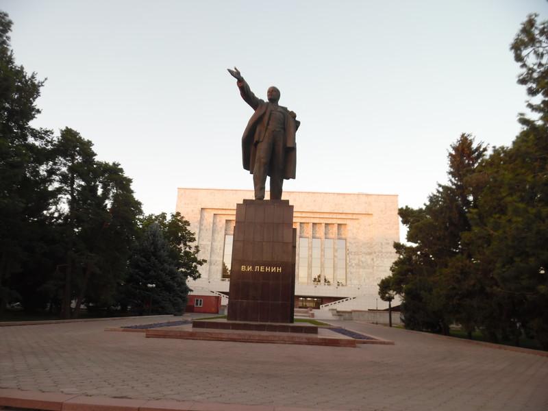 Очень зеленый город Бишкек