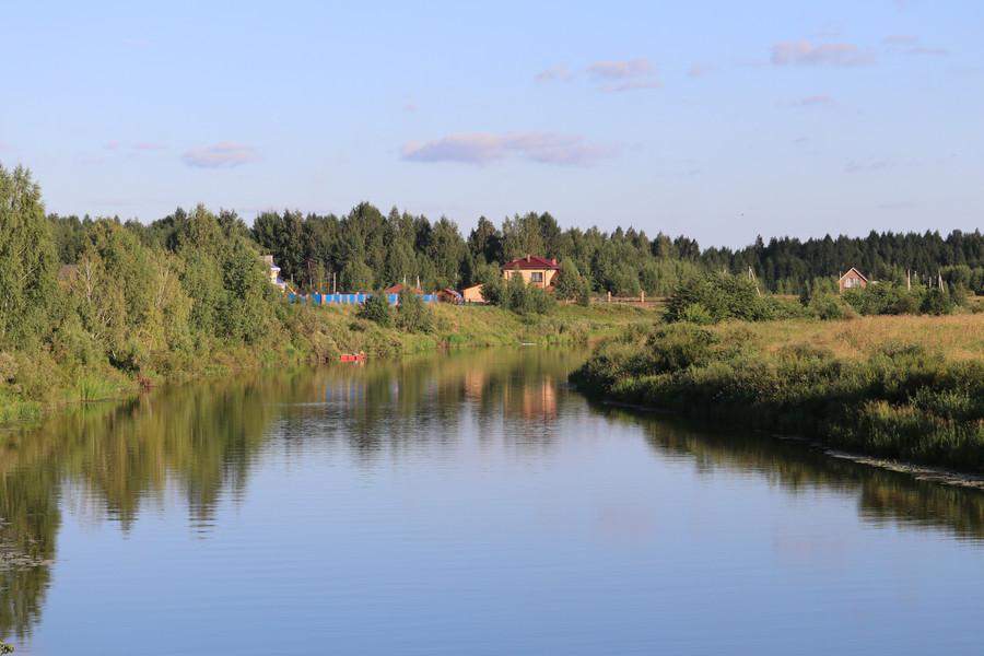 Река Которосль и окрестности