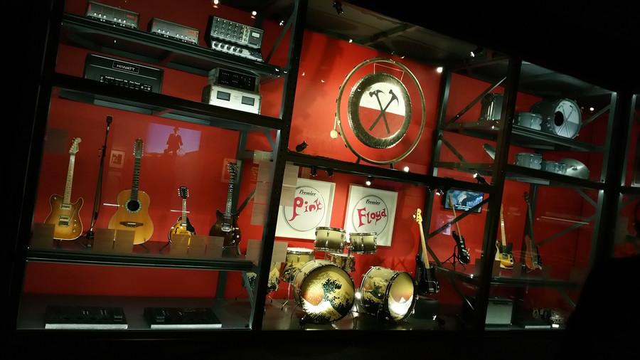 Выставка The Pink Floyd в Риме