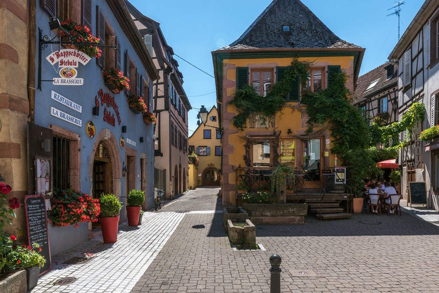 Коммуна Рибовилле. Эльзас. Франция