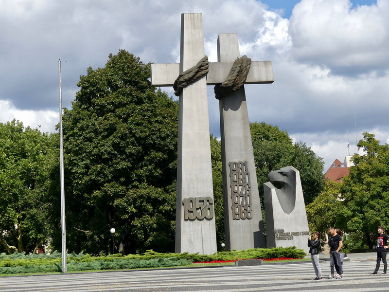 Польша. Познань в августе