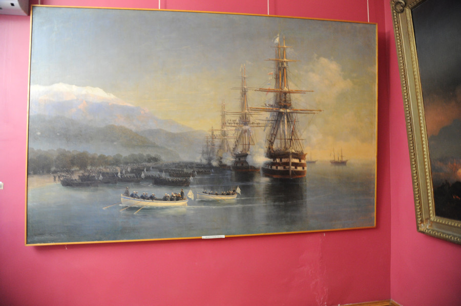 Музей и галерея Ивана Айвазовского, Феодосия, Крым