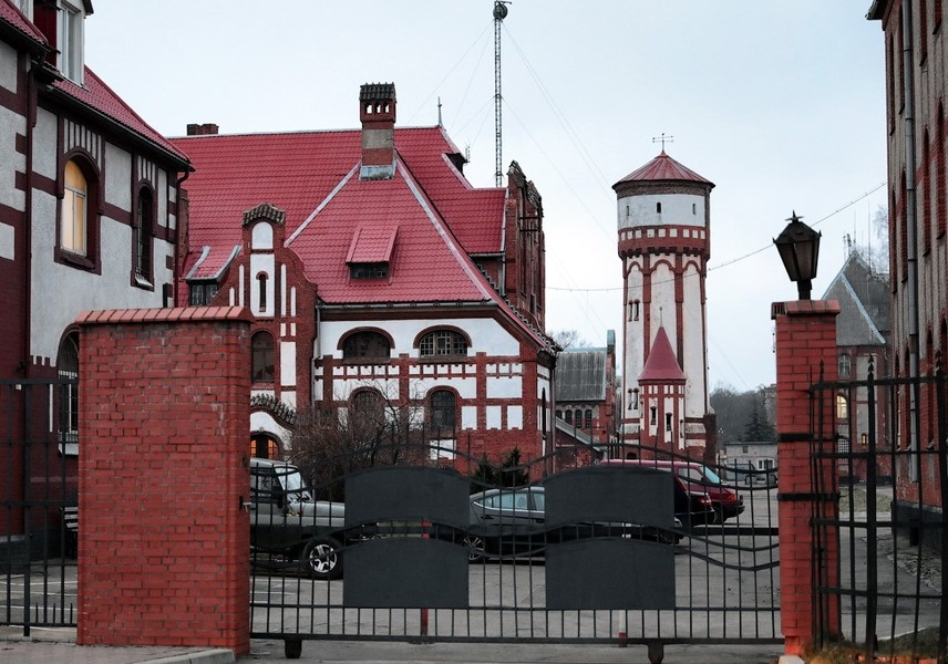 Балтийск. Самый западный город России