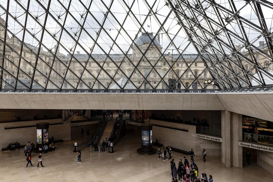 Фотографии из Лувра