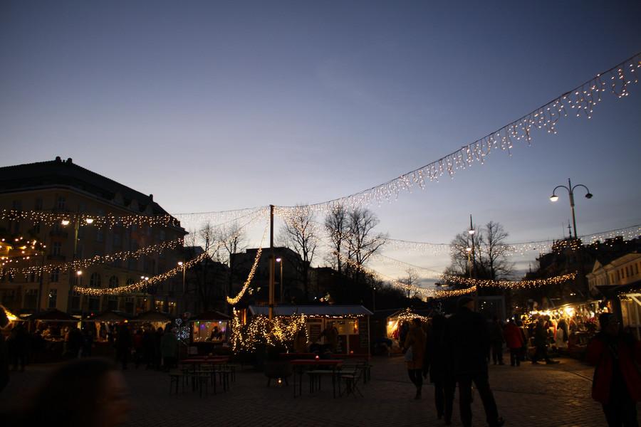 Хельсинки. Конец ноября - начало Декабря