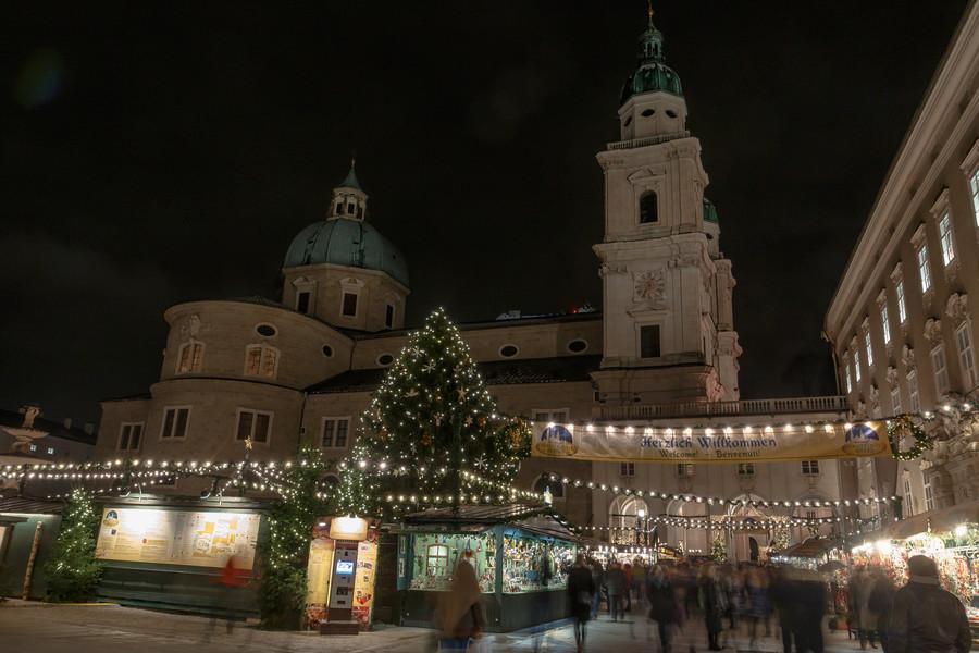 Вечерняя прогулка по Зальцбургу