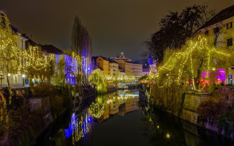 Любляна. Город, который не оставит вас равнодушным