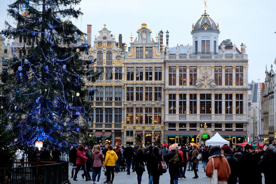 Брюссель. Отпуск начался!