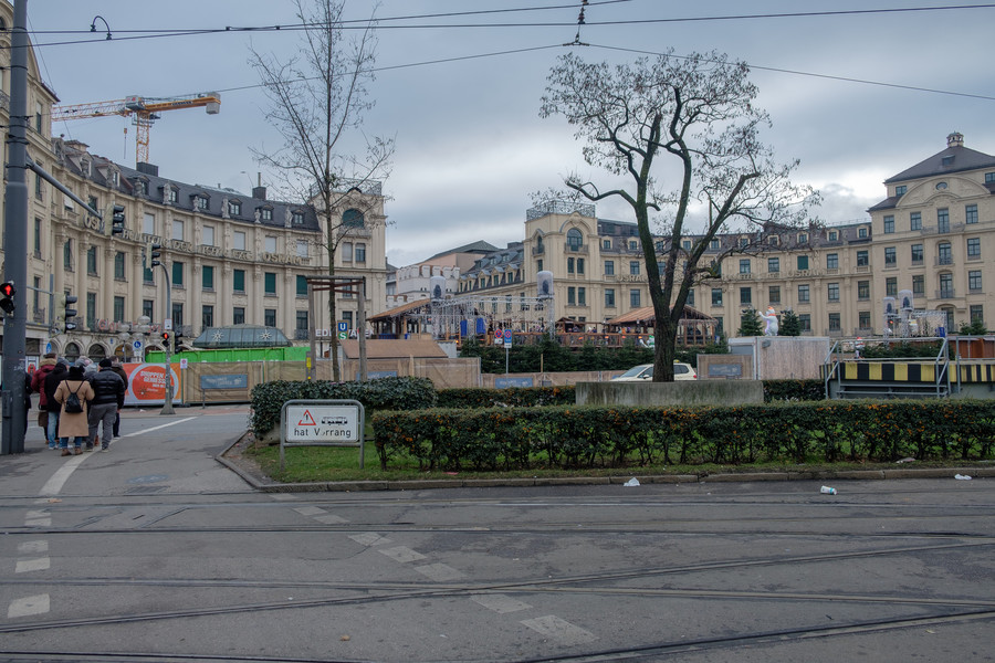 Улицы Мюнхена в первые дни 2019 года