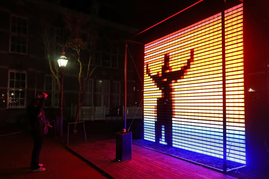Вечерний Амстердам в свете огней!