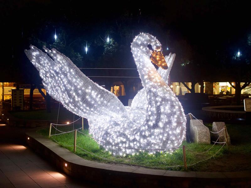 Световые инсталляции в Копере, Словения