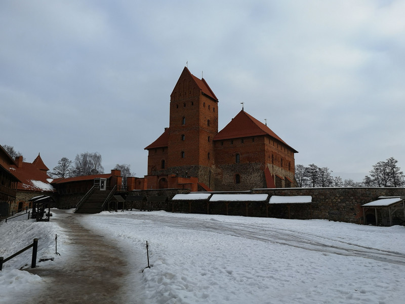 Тракайский замок и музей