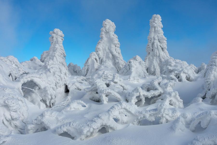 Гора Фихтельберг. Самая высокая точка Саксонии