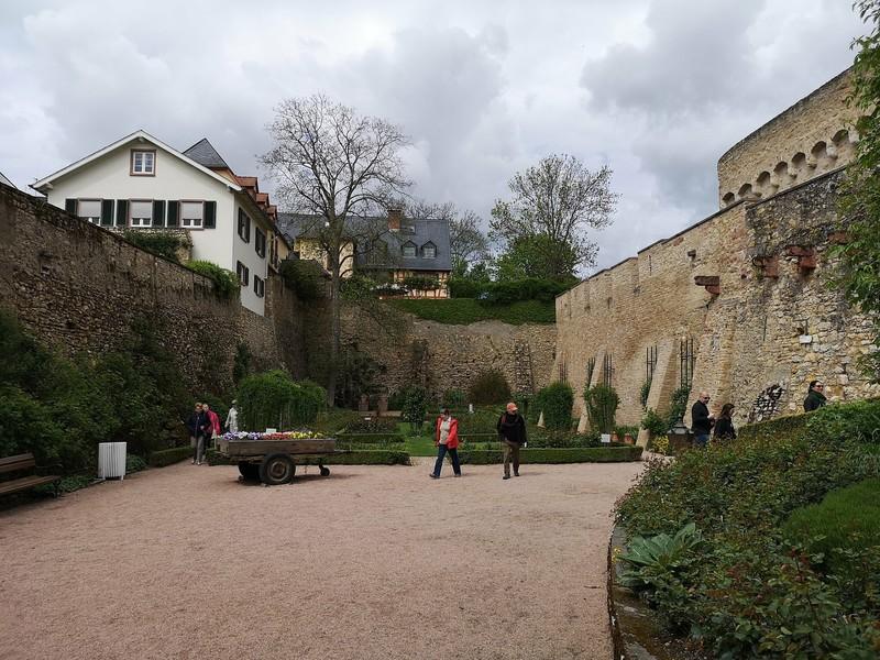 Майнц и Эльтвилле-ам-Райн в конце апреля