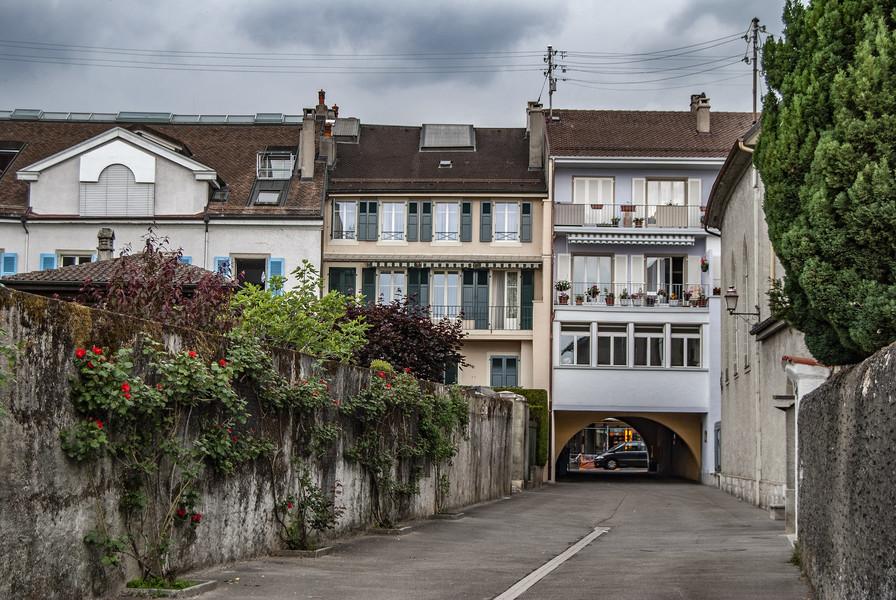 Город Ролль, Швейцария