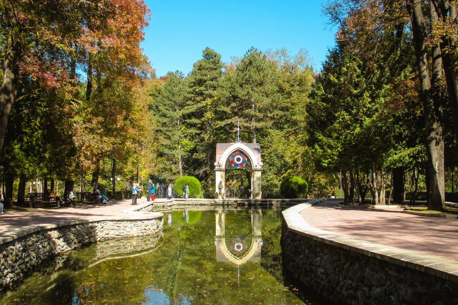 Кисловодск. Парк, Красные камни и долина роз