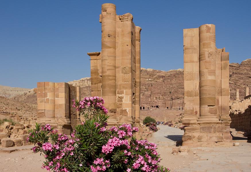 Древний город Петра. Иордания