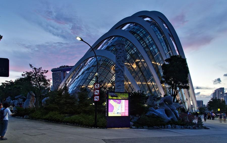 Невероятный Сингапур. Сады у Залива
