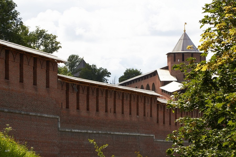Стены Нижегородского Кремля