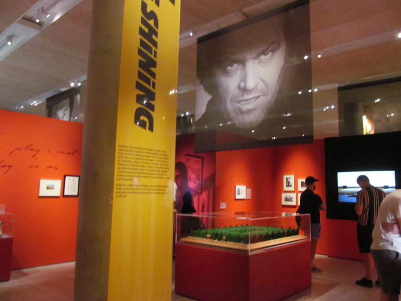 Выставка Стенли Кубрика в музее дизайна в Лондоне