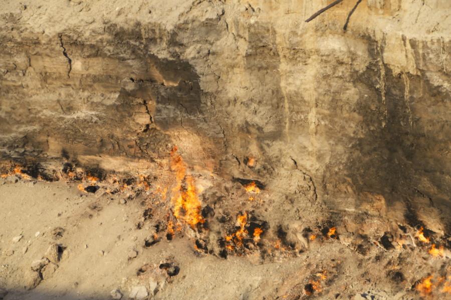 "Дарваза (""Врата ада"") - газовый кратер в Туркменистане"