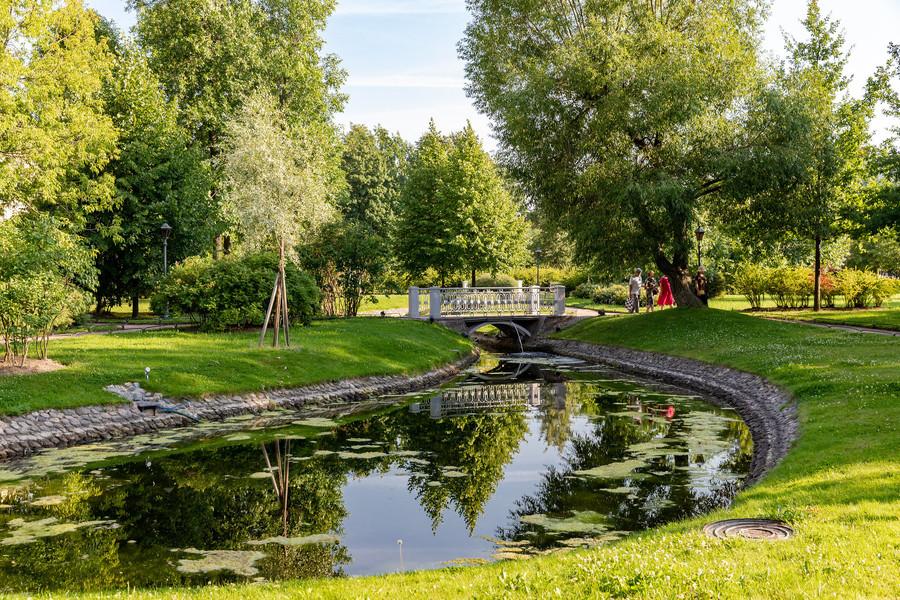 Сад музея-усадьбы Г. Р. Державина